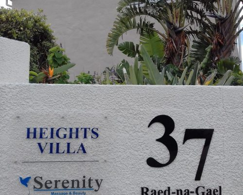 Hermanus Heights Villa Signage